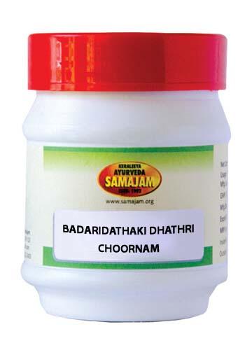 BADARIDATHAKI DATHRI CHOORNAM